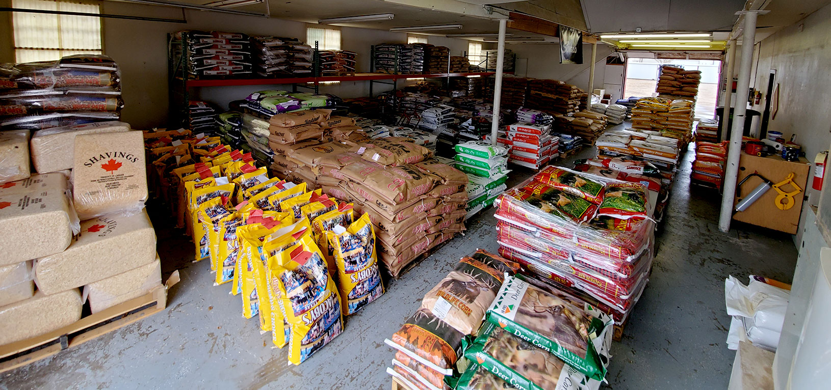 Olton Livestock Feed , Hay Supply and Firewood Supply